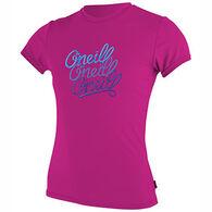 O'Neill Girls' Skins Rash Short-Sleeve T-Shirt