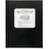 Large Black Premium Sketchbook by Peter Pauper Press