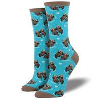 Socksmith Design Women's Significant Otter Crew Sock