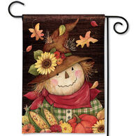 BreezeArt Autumn Scarecrow Garden Flag