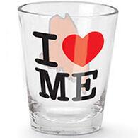 Cape Shore I Love Maine Shot Glass