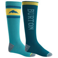 Burton Men's Weekend Midweight Sock, 2-Pack