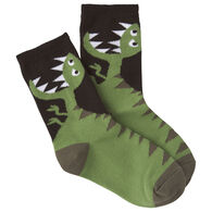 K. Bell Youth T-Rex Crew Sock