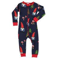 Lazy One Infant Boys' No Place Like Gnome Union Suit
