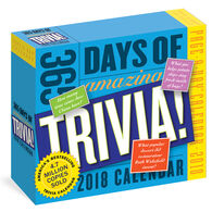 365 Days of Amazing Trivia! 2018 Page-A-Day Calendar by Workman Publishing