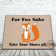 High Cotton Door Mat - For Fox Sake