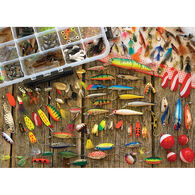 Outset Media Jigsaw Puzzle - Fishing Lures