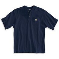 Carhartt Men's Big & Tall Short-Sleeve Henley Shirt