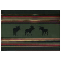 Kay Dee Designs Woodland Moose Printed Woven Placemat