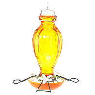 Audubon Fluted Glass Oriole Bird Feeder