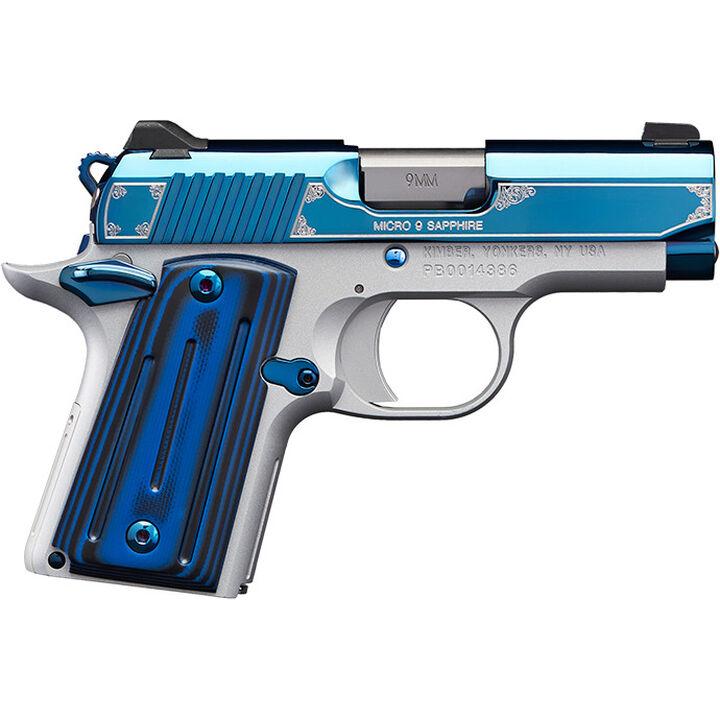 """Kimber Micro 9 Sapphire 9mm 3.15"""" 6-Round Pistol"""