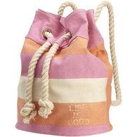 Life is Good Women's Dockside Sling Bag - Sunkissed Orange