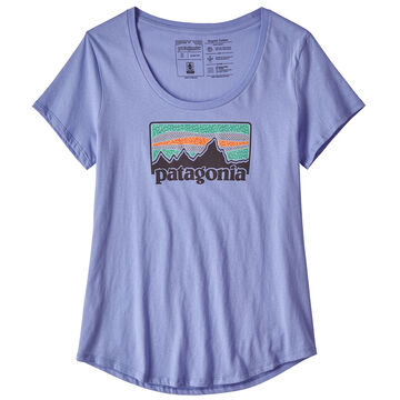 Patagonia Womens Solar Rays 73 Scoop Short-Sleeve T-Shirt