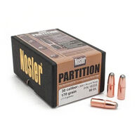 "Nosler Partition 30 Cal. 170 Grain .308"" RN Rifle Bullet (50)"