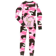 Lazy One Toddler Girls' Deeriaire Flap Jacks