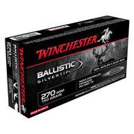 Winchester Ballistic Silvertip 270 WSM 150 Grain Polymer Tip Rifle Ammo (20)