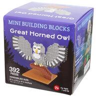 Impact Photographics Great Horned Owl Mini Building Blocks