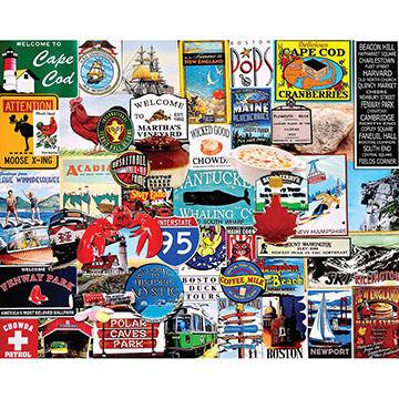 White Mountain Jigsaw Puzzle - I Love New England