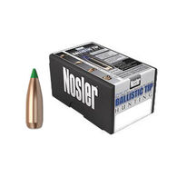 "Nosler Ballistic Tip 30 Cal. 125 Grain .308"" Spitzer Point / Green Tip Rifle Bullet (50)"
