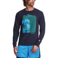 Champion Men's Classic Graphic Long-Sleeve T-Shirt
