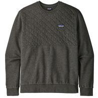 Patagonia Men's Organic Cotton Quilt Crewneck Sweatshirt