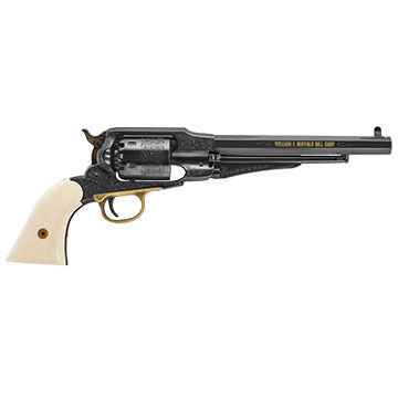 Uberti 1858 Buffalo Bill Centennial Limited-Edition 44 Cal. Black Powder Pocket Revolver
