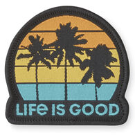 Life is Good Get Away Palms Positive Patch