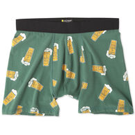 Life is Good Men's LIG Beer Classic Boxer Brief