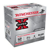 "Winchester Super-X 12 GA 2-3/4"" Black Powder Blank Ammo (25)"