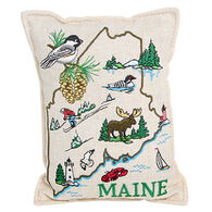 """Paine Products 4"""" x 6"""" State of Maine Balsam Pillow"""