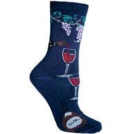 Wheel House Designs Wine Country Sock