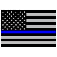 Sticker Cabana Police Flag Sticker