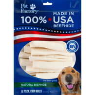 Pet Factory USA Beefhide Chip Roll Dog Chew - 18 Pk.