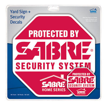 Sabre Yard Sign & Security Decals Kit