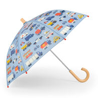 Hatley Boys' Rush Hour Umbrella