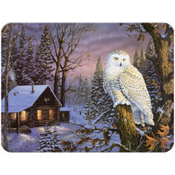 Rivers Edge White Owl Cutting Board