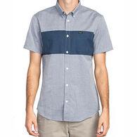 RVCA Men's That'll Do Bar Short-Sleeve Shirt