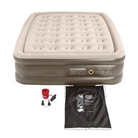 Coleman Double High QuickBed Queen Airbed w/ Electric Pump