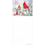 Pumpernickel Press Christmas Colors Magnetic List Notepad