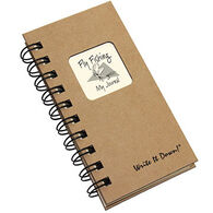 "Journals Unlimited ""Write It Down!"" Mini-Size Fly Fishing Journal"