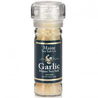 Maine Sea Salt Garlic Refillable Grinder - 3.6 oz.