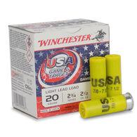 "Winchester USA Game & Target 20 GA 2.75"" 7/8 oz. #7.5 Shotshell Ammo (250)"