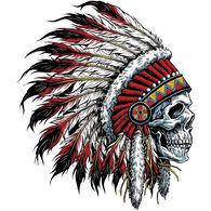 Sticker Cabana Tribal Skull Sticker