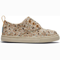 TOMS Toddler Boys' & Girls' Tiny TOMS Cheetah Cordones Sneaker