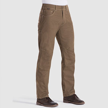 Kuhl Mens Hot Rydr Flannel-Lined Pant