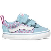 Vans Toddler Girls' Ward V Cheetah Slip-On Shoe