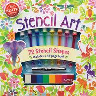 Klutz Stencil Art Craft Kit by The Editors of Klutz