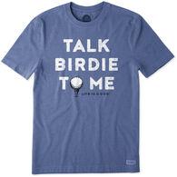 Life is Good Men's Big & Tall Talk Dirty To Me Crusher Short-Sleeve T-Shirt