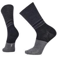 SmartWool Men's Color Block Denim Crew Sock - Special Purchase