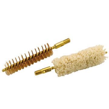 Traditions Bronze Bristle Bore Brush and Cotton Swab